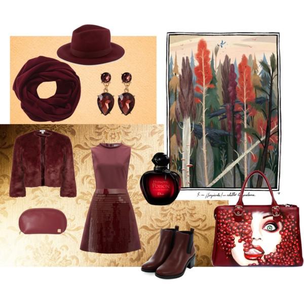 Бордовый - Осенняя сказка