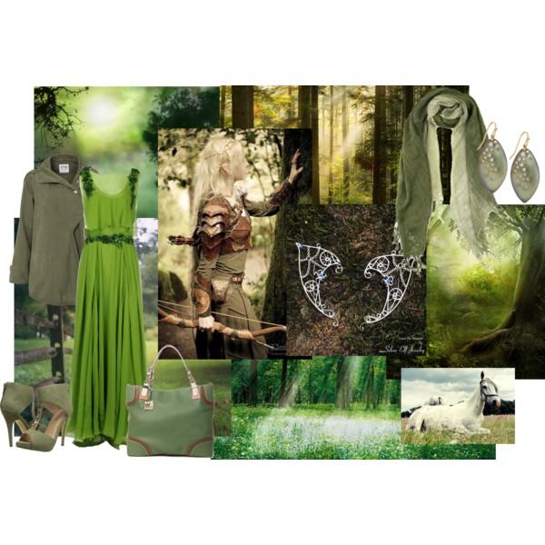 Зеленый кипарис - Осенняя сказка