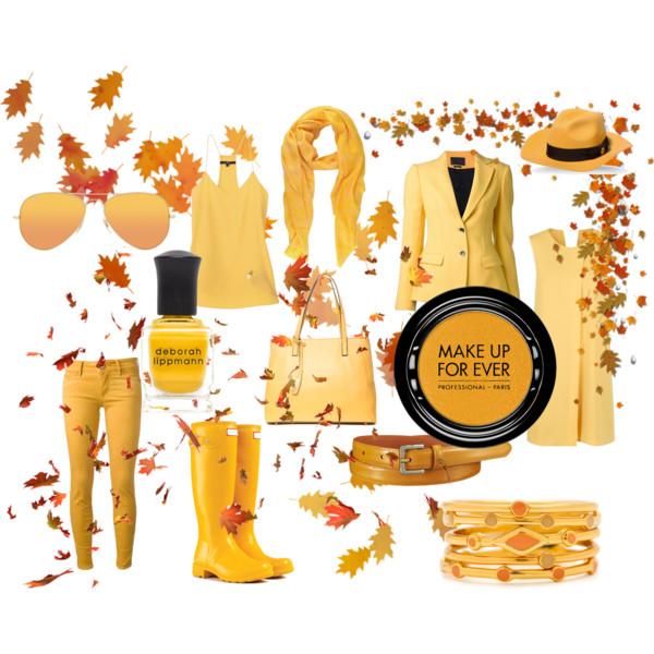 Желтый - Осенняя сказка